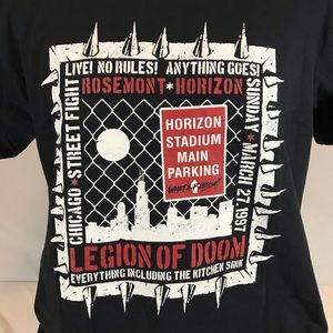 Legion of Doom 1997 Road Warriors T Shirt WWF XL